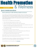 NMCPHC Health Promotion and Wellness - 02.23.2021