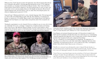 Guard team supports state's information access efforts - 03.10.2021