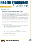 NMCPHC Health Promotion and Wellness - 07.07.2021