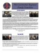 9th Construction Regiment Family Newsletter - 12.11.2009