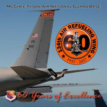 Commemorative 60th Anniversary Book for McGhee Tyson Air National Guard Bas