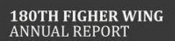 180th Fighter Wing Annual Report