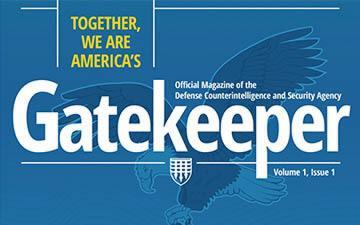 DCSA Gatekeeper Magazine