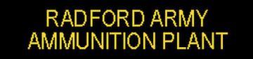 Radford Army Ammunition Plant (RFAAP) Environmental Documents