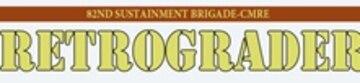 82nd Sustainment Brigade-CENTCOM Materiel Recovery Element Retrograder