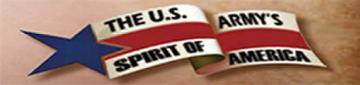 US Army's Spirit of America Ticket Brochure