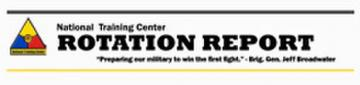 Rotation Report