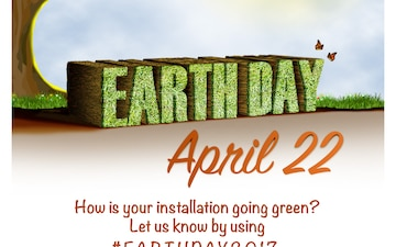 Earth Day 2017 Poster Small: Going Green 1