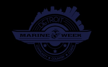 Marine Week Detroit official logo