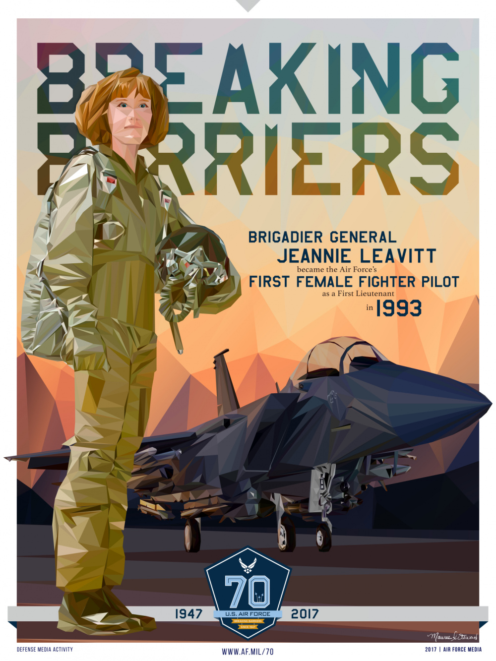 Breaking Barriers-First Female Fighter Pilot (6 of 8)