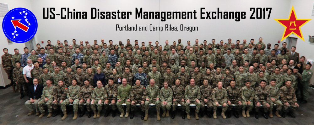 2017 U.S. China Disaster Management Exchange group photo