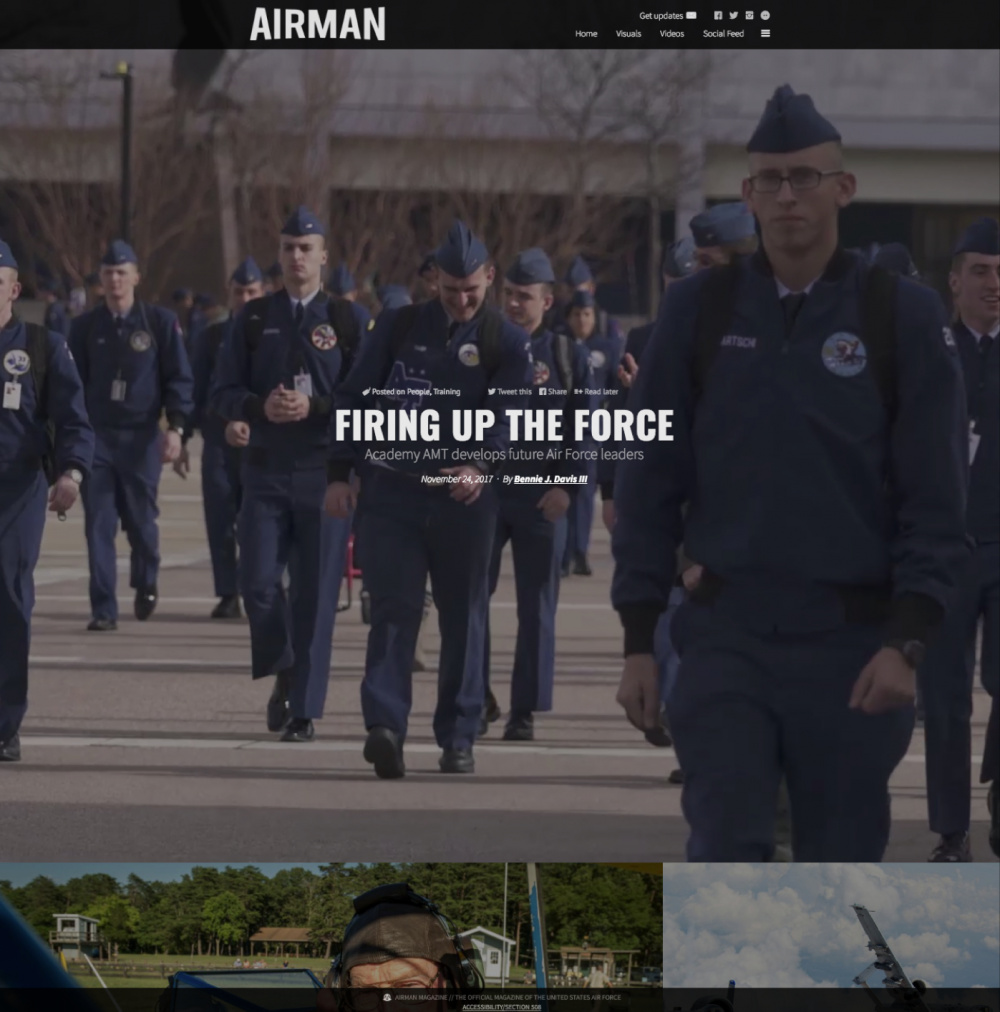 AIRMAN Magazine Web Site