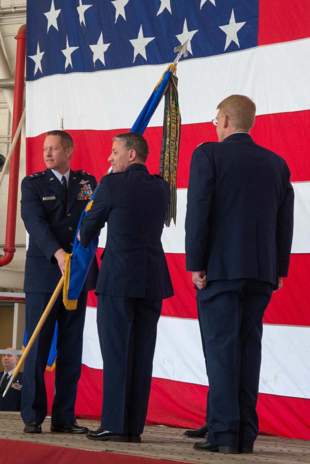 136AW Change of Command 2017