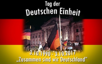 German Day of Unity Graphic