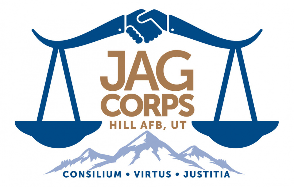 JAG CORPS, Hill AFB UT – Logo