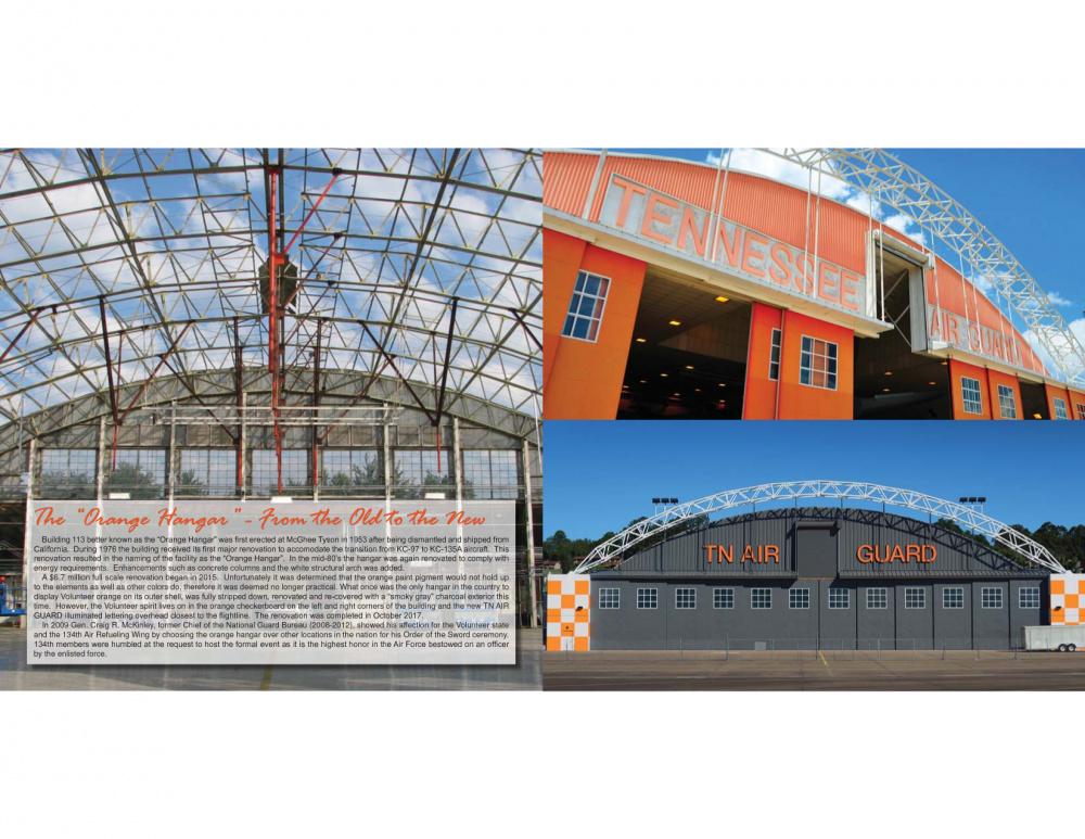 Orange Hangar Graphic
