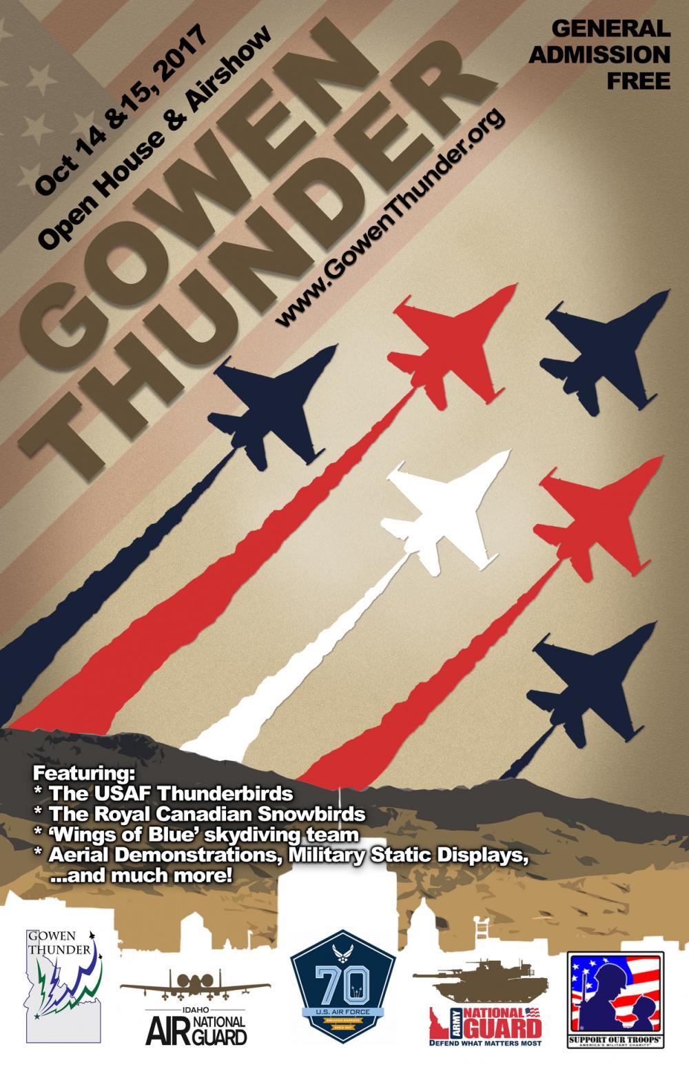 Gowen Thunder poster