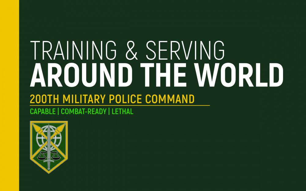 Military Police: Around the World