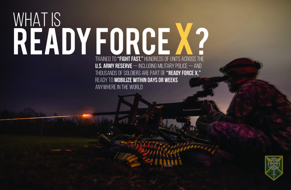 What is Ready Force X?