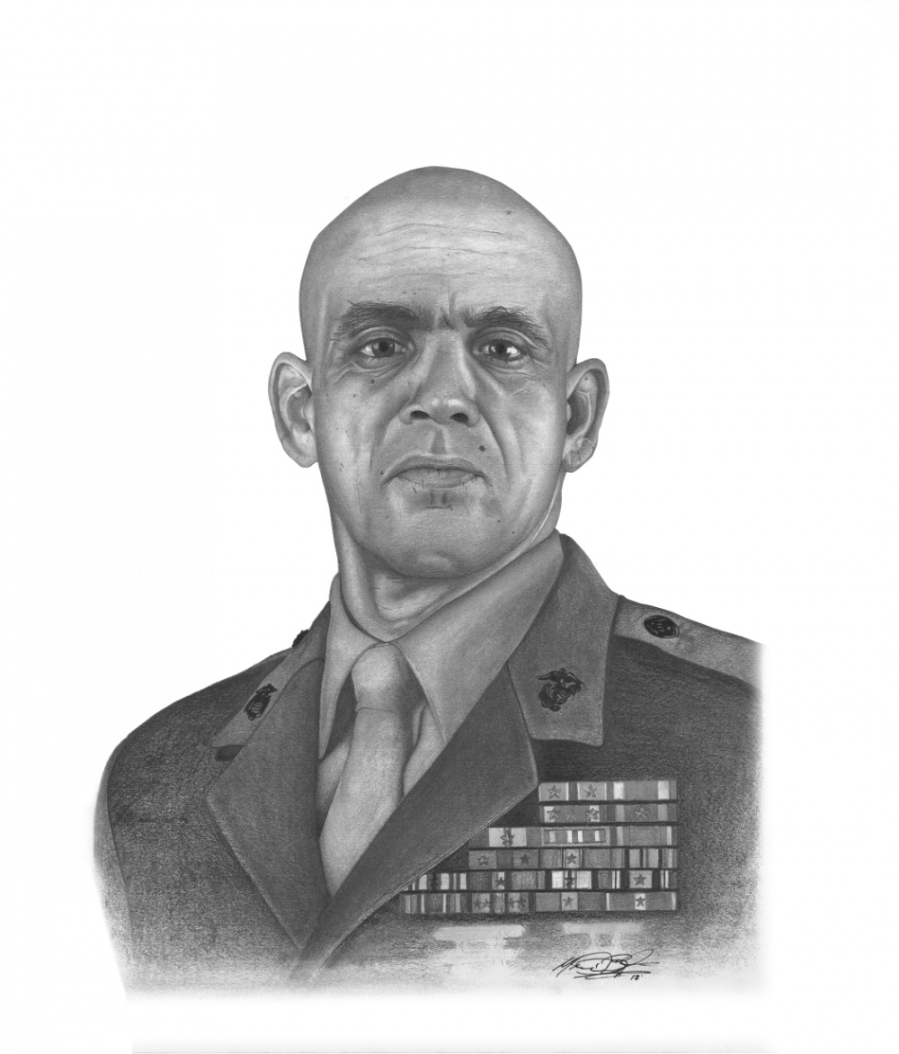 Official Portrait of SgtMaj Rafael Rodriguez