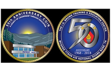 TEC 50th Anniversary Coin - Png
