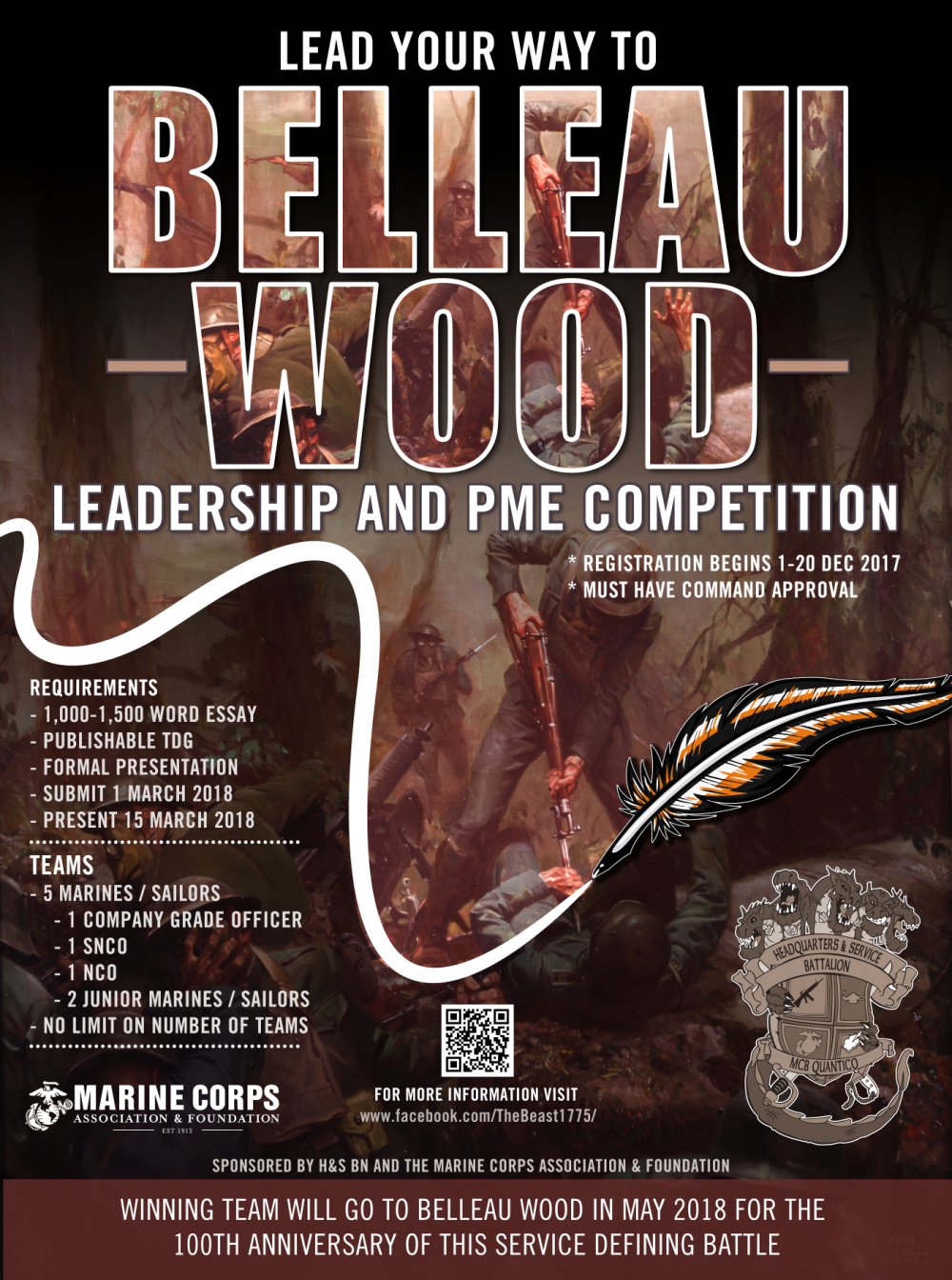 Belleau Wood Leadership and PME Competition