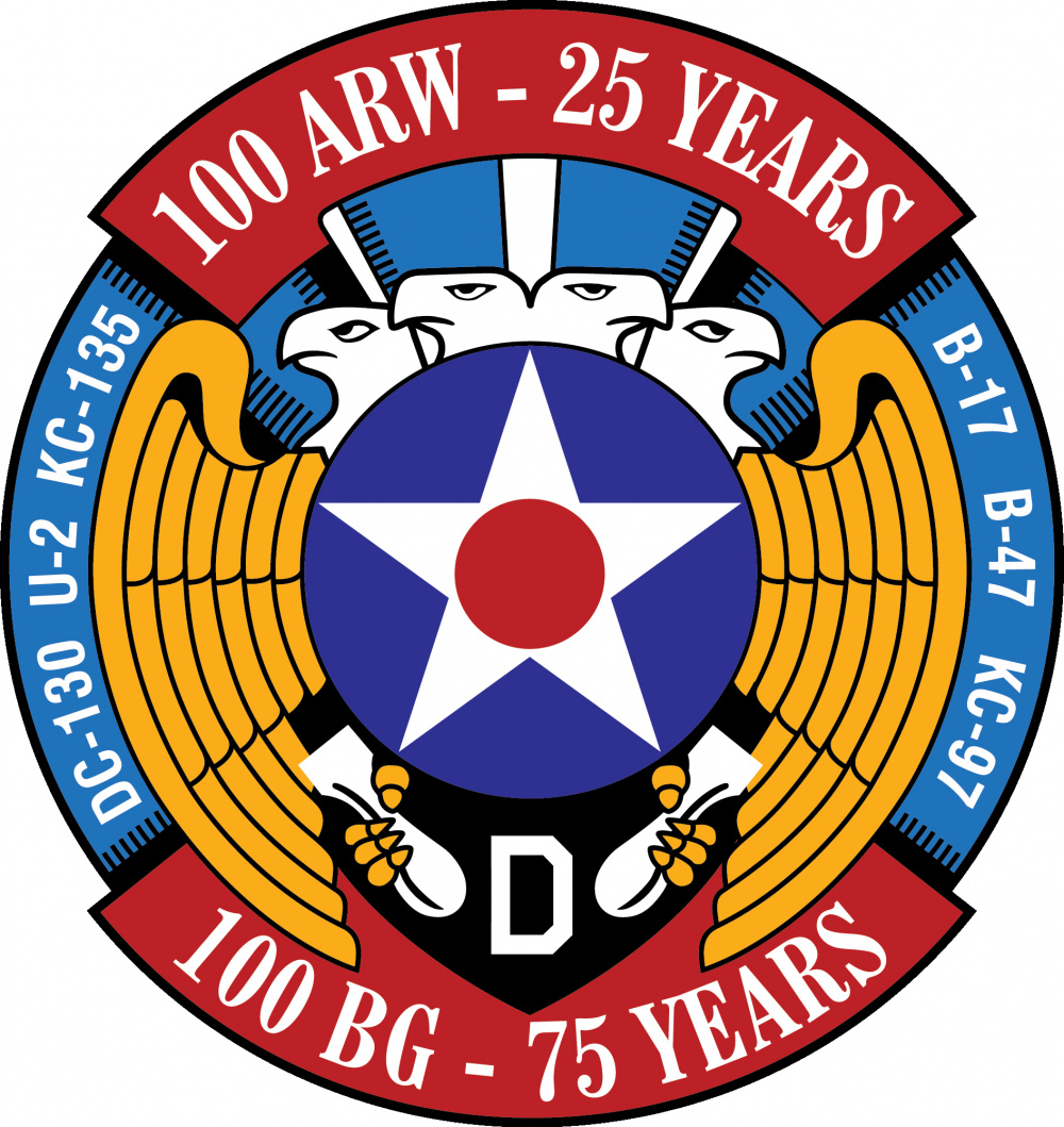 25th-75th Anniversary Logo of the 100th