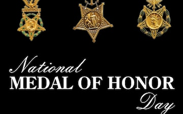 National Medal of Honor Day Social Media Graphic