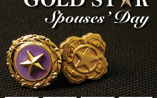 Gold Star Spouses Day Social Media Graphic