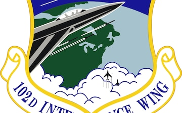 Emblem of the 102nd Intelligence Wing