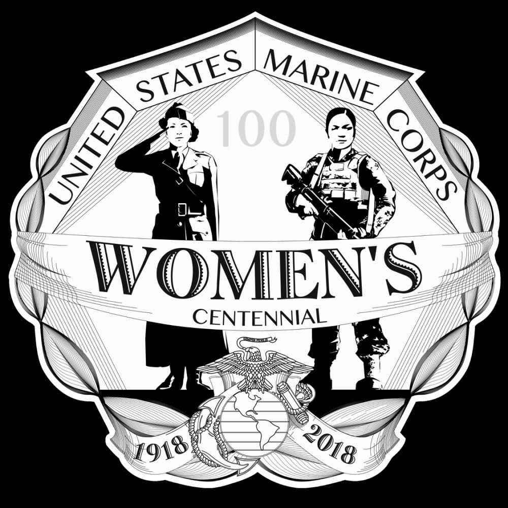 United States Marine Corps women's centennial logo