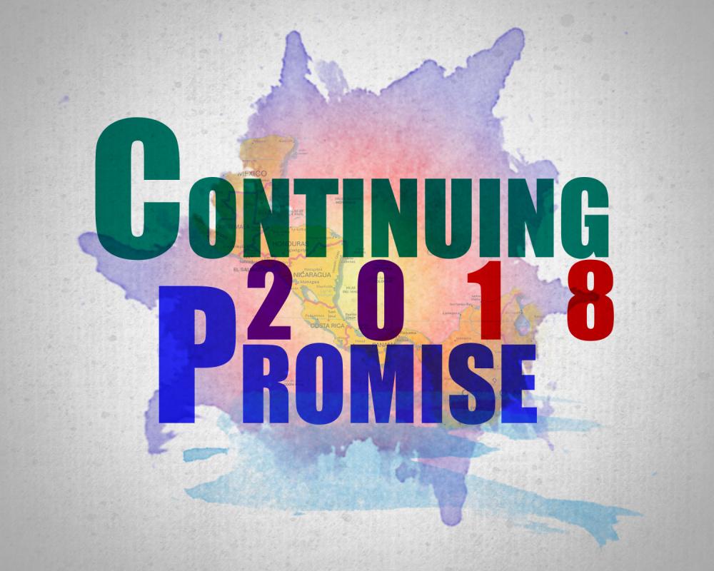 Continuing Promise 2018 Logo Variant