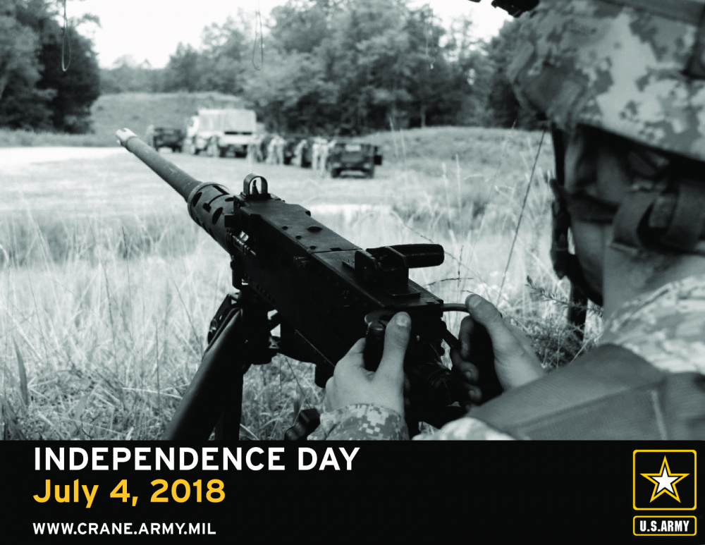 Crane Army: Independence Day 2018