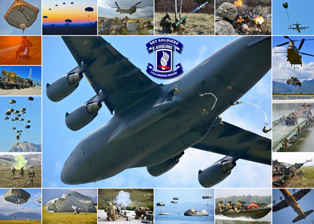 173rd Airborne Brigade in action