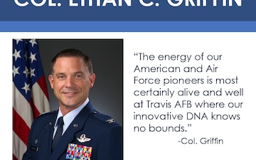 Get to Know the New 60th AMW Commander Col. Ethan C. Griffin