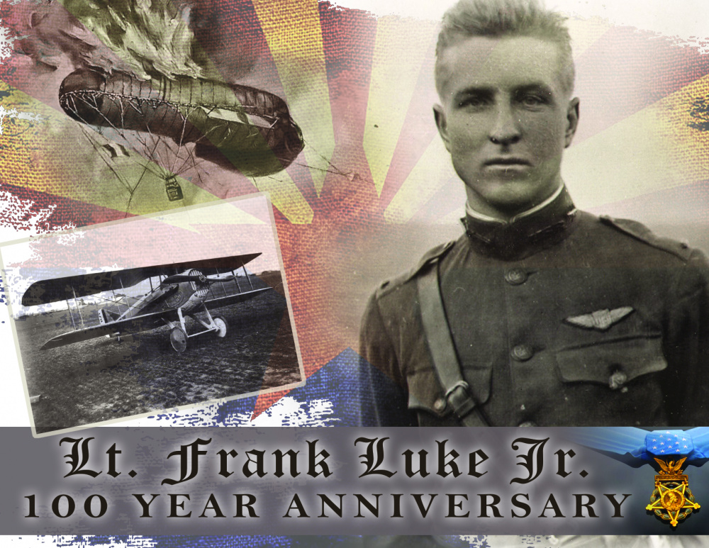 Lt Frank Luke 100th Anniversary Graphic