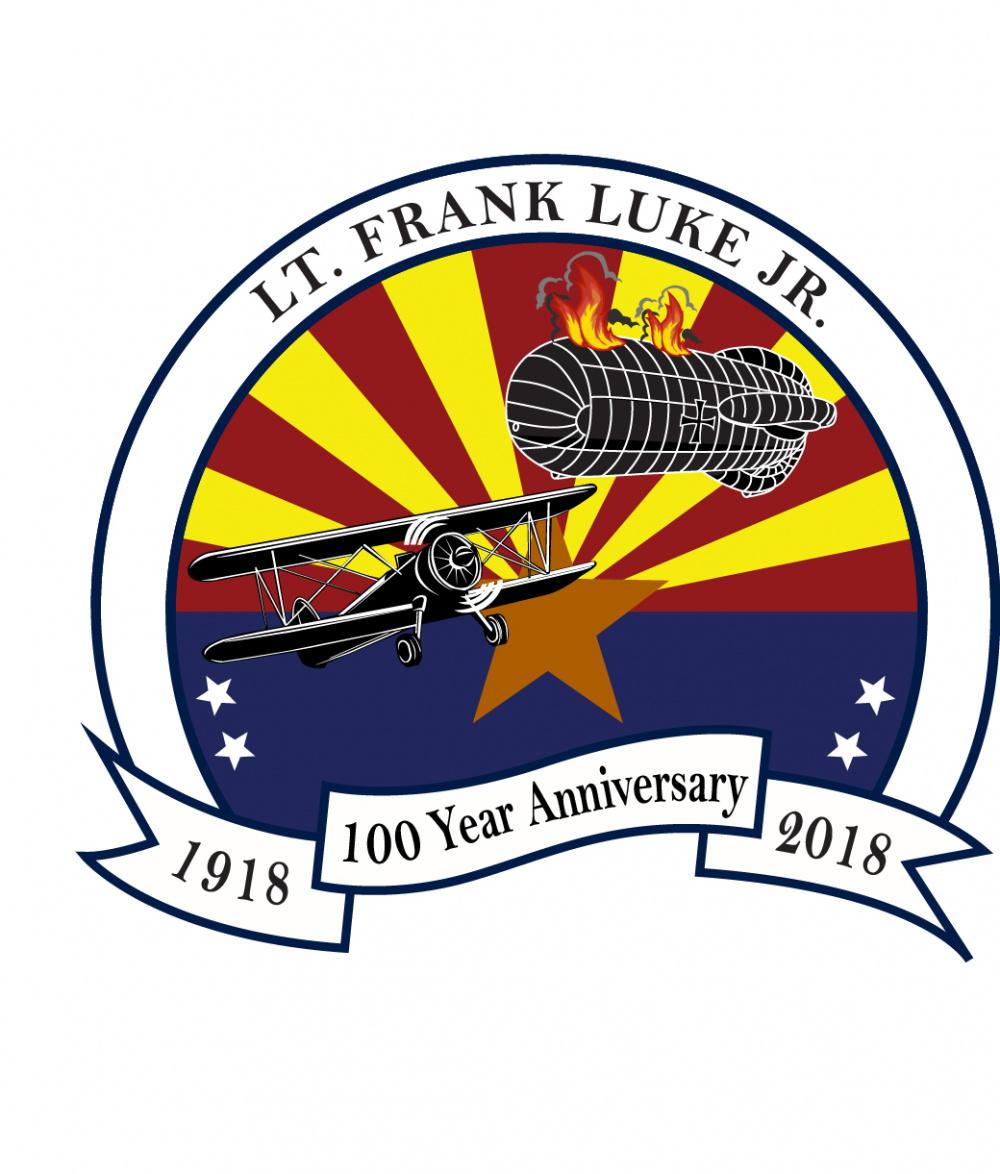 Lt Frank Luke 100th Anniversary Logo