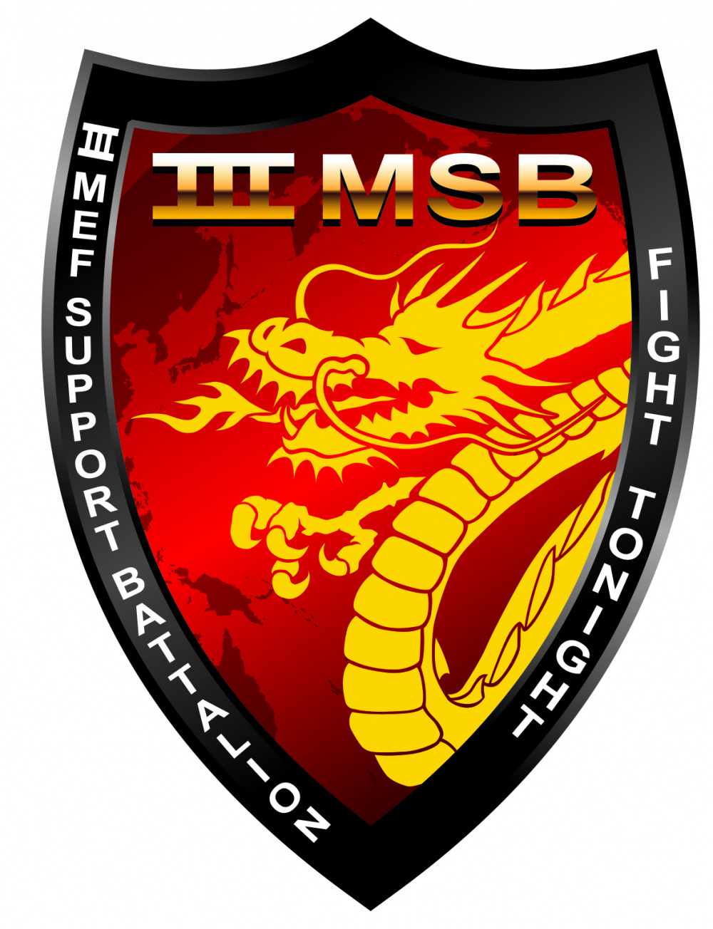 III Marine Expeditionary Force Support Battalion (MSB) Logo