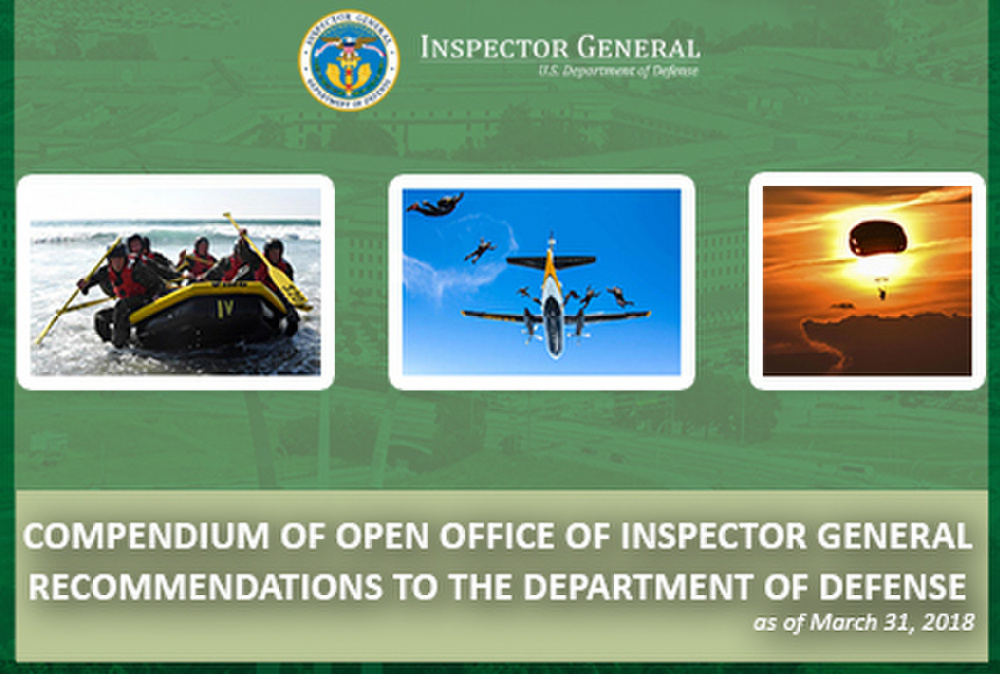 DoD OIG Releases 2018 Compendium of Open Recommendations