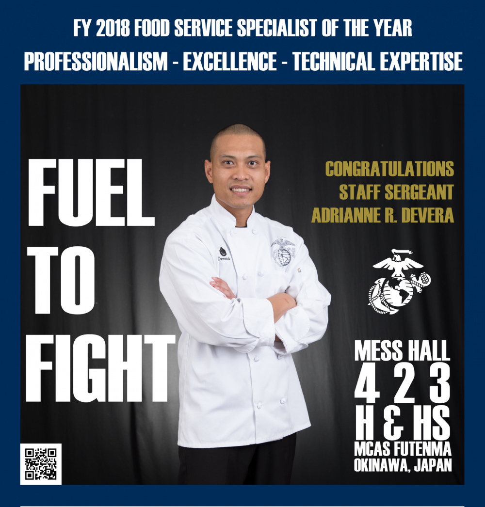 2018 FOOD SERVICE SPECIALIST OF THE YEAR STANDS ABOVE THE REST GRAPHIC