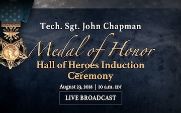 Medal of Honor – Hall of Heroes Ceremony, Rotator, Live Stream Graphic