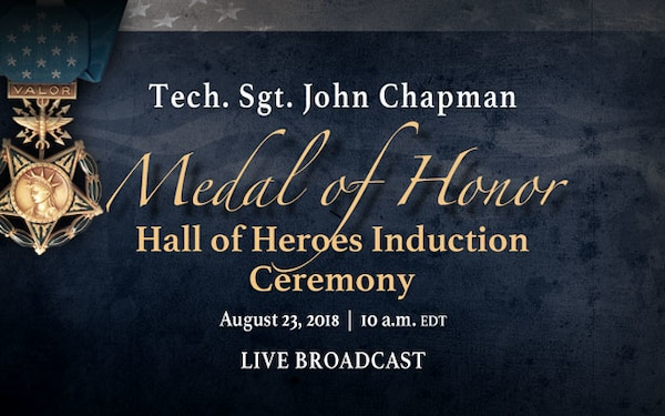 Medal of Honor – Hall of Heroes Ceremony, Social Media, Live Stream Graphic