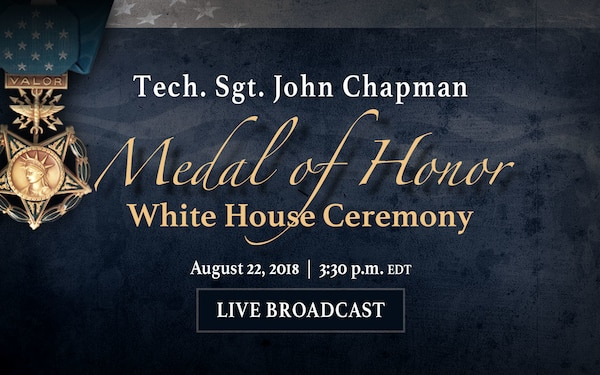 Medal of Honor – White House Ceremony, Rotator, Live Stream Graphic