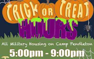 Camp Pendleton Housing Trick or Treat Hours