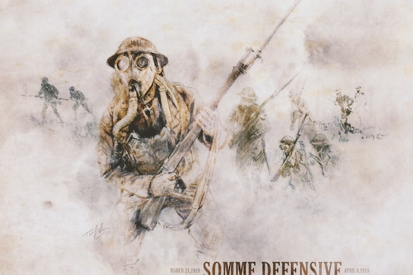 WW1 Somme Defensive