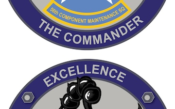 56th Component Maintenance Squadron Commander's Coin