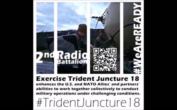 2nd RadBn Infographic - Trident Juncture 18