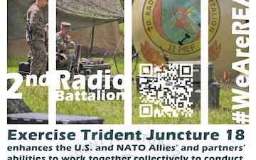 2nd RadBn Infographic - Trident Juncture 18