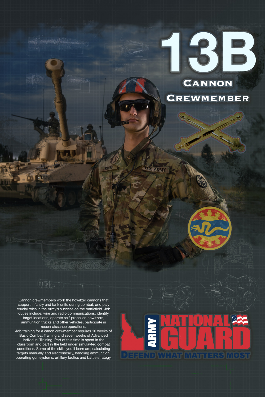 13B Cannon Crewmember