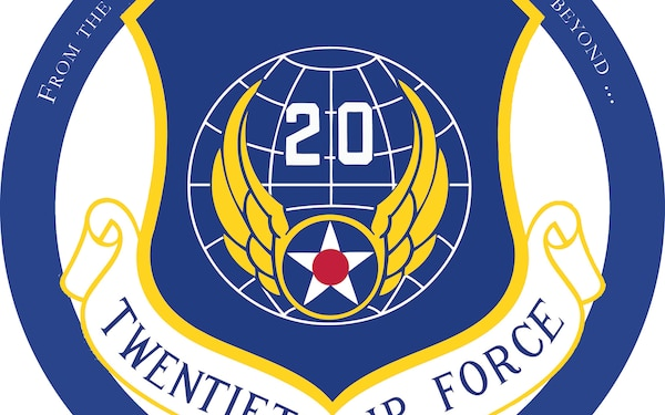 20th Air Force 75th Anniversary Logo (Submitted)